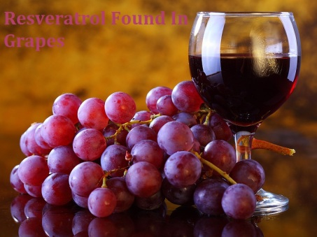 Resveratrol found in grapes