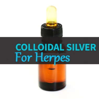 Collidal Silver For Herpes